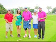 Mario Yee, modelo, Eloy Nuñez, Maya García y Luigi Bemporad