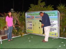 Golf de Exhibición en el SAMBIL Caracas