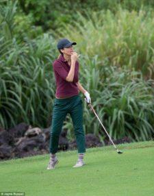 Golfista, Ejecutiva y Bella (cortesía Dailymail.co.uk/ Jayne Russel)