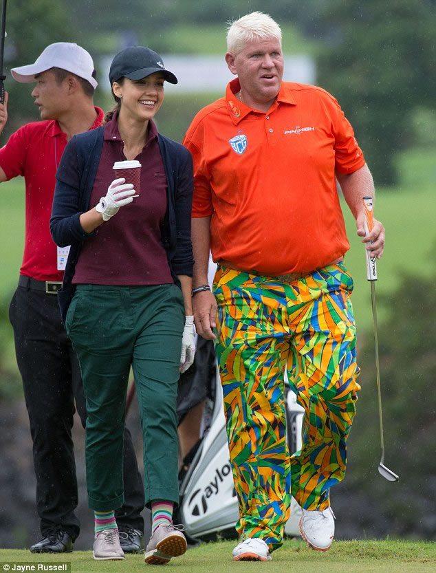 Golfista, Ejecutiva y Bella (cortesía Dailymail.co.uk)