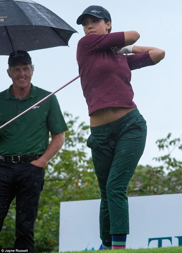 Golfista, Ejecutiva y Bella (cortesía Dailymail.co.uk/ Jane Russel - Demotix)