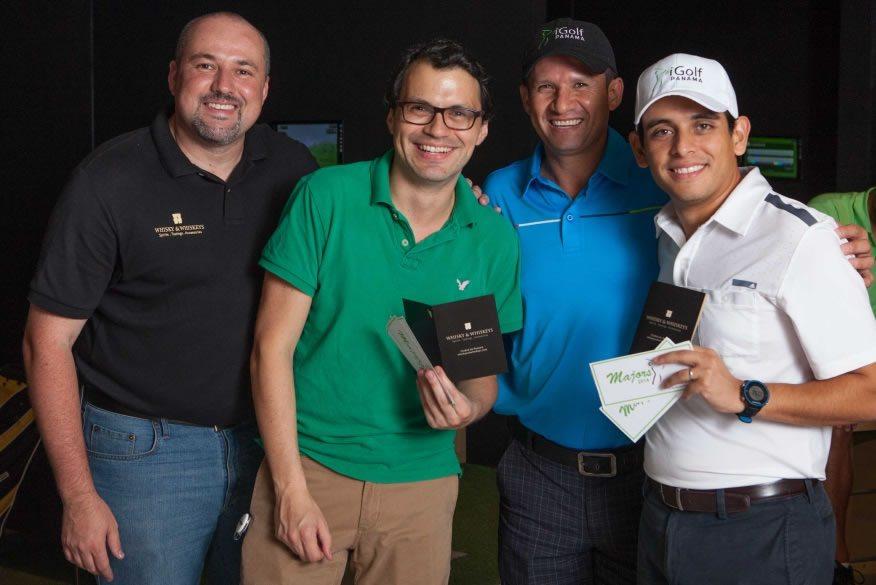 Ganadores de iGolf Majors - Daniel Ordonez y Guillermo Barreto