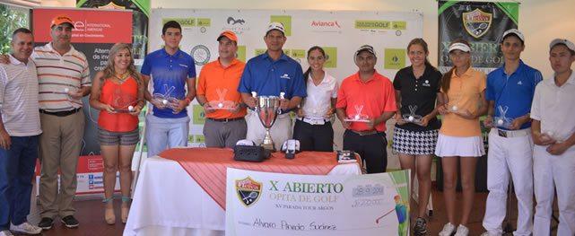 Local gana Tour Argos en Club Campestre Neiva