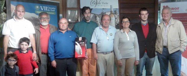 Miguel Ángel Camanzo e Irene Cacabelos ganan el Torneo Benéfico Foltra organizado por el Grupo Cenor a favor del Centro de Rehabilitación Neurológica