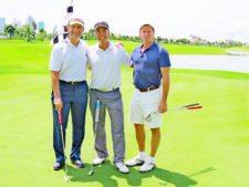 Luis J. Varela, Ricardo Crespo y Nicolás Barletta