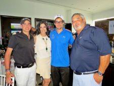 Manuel Vélez, Anabelle Narbona, Gary Martin y Juan José García