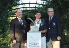 El ganador con los directivos de la USGA - Gentileza: LAAC/Enrique Berardi.