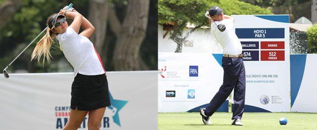 Peruana Gutiérrez a dos golpes del título en damas. Harvey mantiene el liderazgo en caballeros