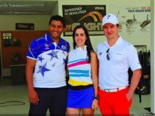 Rodulfo Alvarado, María Alejandra Pinto y Director PAR Luís Rivas