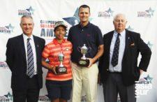 Sofía García (Paraguay) 1er puesto categoría damas y Scott Harvey (USA) 1er puesto categoría hombres (cortesía asiasur.com)