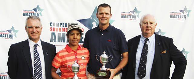 Scott Harvey y Sofía García Campeones Sudamericanos 2015