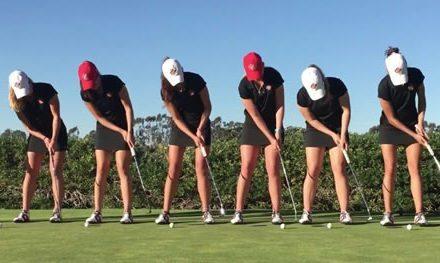 Video, las chicas de San Diego University se divierten y demuestran su dominio en el golf