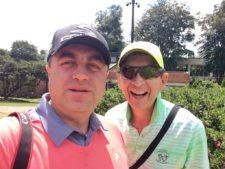 Selfie Carlos Avendaño y Eduardo Pérez-Paris en Los Lagartos