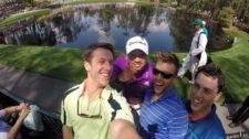 Selfie Jason Day con Público - Masters (cortesía imgur.com)
