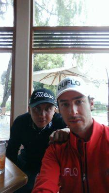 Selfie Oscar Mono Álvarez & Manuel Merizalde