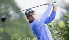 BOGOTA, COLOMBIA - MARCH 19: Rodolfo Cazaubon of Mexico tee of on the first hole during the first round of the 68 Avianca Colombia Open presentado por Arturo Calle at Club los Lagartos on March 19, 2015 in Bogota, Colombia. (Enrique Berardi/PGA TOUR)
