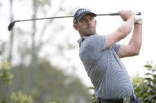 BOGOTA, COLOMBIA - MARCH 19: Daniel Danny Balin of the U.S tee of on the first hole during the first round of the 68 Avianca Colombia Open presentado por Arturo Calle at Club los Lagartos on March 19, 2015 in Bogota, Colombia. (Enrique Berardi/PGA TOUR)
