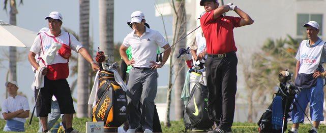 El argentino Miguel Ángel Carballo es líder solitario tras la segunda ronda del Cartagena de Indias at Karibana Championship presentado por Prebuild