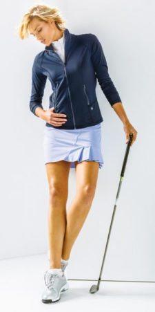 """""""Fashionismo"""" en los campos de golf (cortesía www.bcgolfnews.com)"""