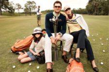 """""""Fashionismo"""" en los campos de golf (cortesía www.golfbusinessnews.com)"""