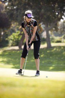 """""""Fashionismo"""" en los campos de golf (cortesía www.whyoffashion.com)"""