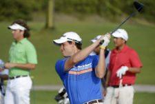 MAZATLAN, MEXICO - MARCH 26: Adam Schenk of the U.S tee of the 14 th hole during the first round of the Mazatlan Open presentado pro Heineken, at Estrella del Mar Golf & Beach, on March 26, 2015 in Mazatlan, Mexico. (Enrique Berardi/PGA TOUR)