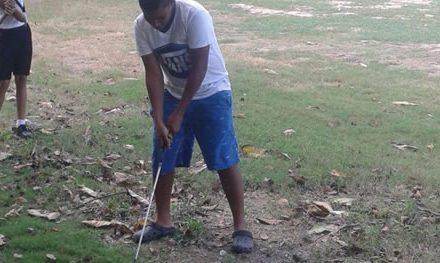 Caraballeda montó su Escuela de Golf para socios y locales