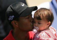 Tiger y su hija (cortesía blackcelebritykids.wordpress.com)