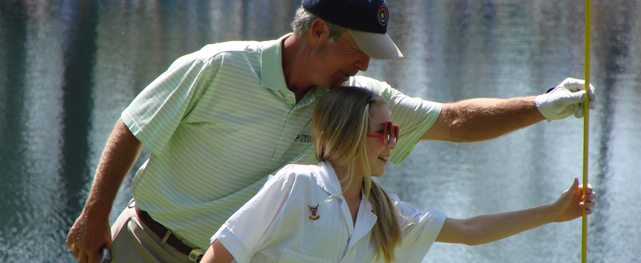 El <i>major</i> de la excelencia y la familia del golf