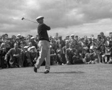 Ben Hogan en el British Open de 1953 (cortesía www.augusta.com)