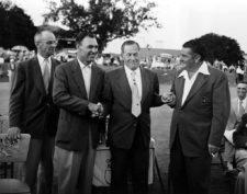 Hogan en Masters 1953 (cortesía golfweek.com / Associated Press)