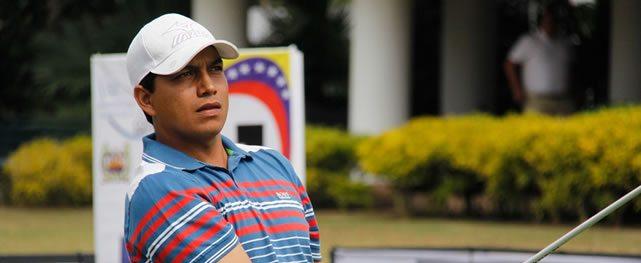 Luis Rojas Líder de los profesionales en la primera ronda del Abierto de Venezuela Copa DIRECTV 2015 Lagunita Country Club