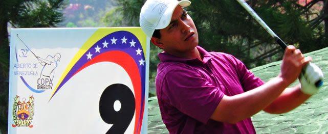 Rojas sigue en la punta al concluir 3ra ronda del Abierto de Venezuela