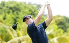 RIO HATO, PANAMA - APRIL 30: Linus Gillgren of Sweden tee off on the ninth hole during the first round of the Lexus Panama Classic presented by World Jewelry Hub at Buenaventura Golf Club on April 30, 2015 in Rio Hato, Panama. (Enrique Berardi/PGA TOUR)