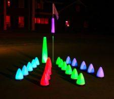 ¿A jugar golf de Noche? (cortesía shop.glowgear.net)