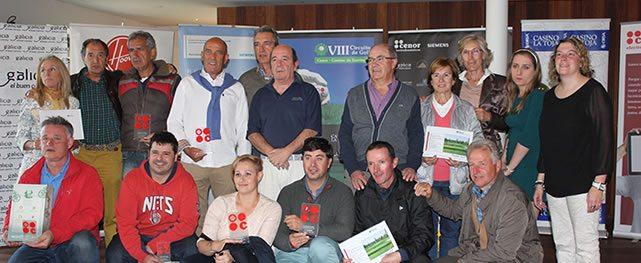 Cuatro navarros se clasifican para la gran final del Circuito de golf Cenor – Camino de Santiago en Señorío de Zuasti