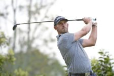 ANTIGUA GUATEMALA - MAY 24: Daniel Balin of the U.S. carded a 65 in the second round on Friday to take the clubhouse lead at the Guatemala Stella Artois Open at the Fuego Maya Golf Course in La Reunión Golf Resort in Guatemala. (Enrique Berardi/PGA TOUR)