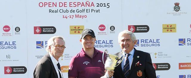 James Morrison, 278 razones para ganar el Open de España