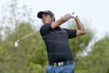 AGUASCALIENTES, MEXICO - MAY 16: Maximiliano Godoy of Argentina tee off on the 10th hole during the third round of the 57º Abierto Mexicano de Golf at Club Campestre Aguascalientes on May 16, 2015 in Aguascalientes, Mexico. (Enrique Berardi/PGA TOUR)