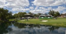 AGUASCALIENTES, MEXICO - MAY 17: The 18th hole during the final round of the 57º Abierto Mexicano de Golf at Club Campestre Aguascalientes on May 17, 2015 in Aguascalientes, Mexico. (Enrique Berardi/PGA TOUR)
