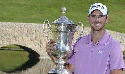 Justin Hueber triunfante en el 57º Abierto Mexicano de Golf