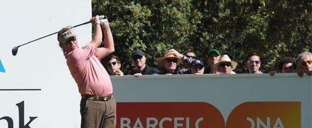 Miguel Ángel Jiménez enseña las garras en el Open de España