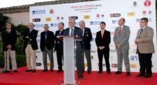 Open España 2015, recepción oficial Alfredo Vega