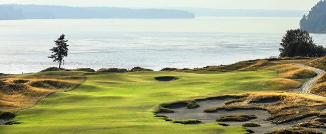 Chambers Bay: cuando el golf se volvió un deporte extremo y sustentable