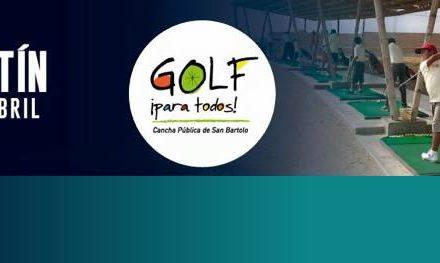 Golf para todos Boletín enero-abril 2015
