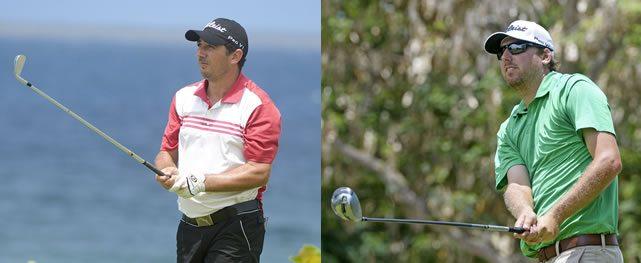Julio Zapata y Bryan Bigley hacen 65 para co-liderar el DR Open