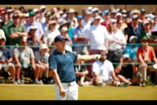 Jordan Spieth hit just 35 of 56 fairways at Chambers Bay, but managed to hit 55 out of 72 greens in regulation (cortesía USGA)