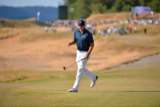 moment on Sunday came when Jordan Spieth made a winding, 27-foot putt for birdie on No. 16 to briefly take a three-stroke lead (cortesía USGA)