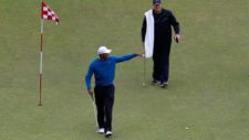Tiger practicando la cancha de Chambers Bay (cortesía www.sportsnet.ca)