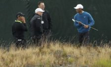 Tiger 2do día de práctica US Open (cortesía www.startribune.com)